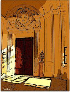 La luce del sole penetra nelle antiche stanze ...... nel pomeriggio a Palazzo Barberini Boccherini: Cello Concerto