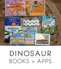 Dinosaur Books and Apps for Little Ones - Playful Learning