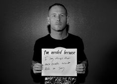 Corey Taylor for Suicide Prevention Week/This is really touching