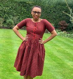 "Phomolo 'Mantolo Motloheloa on Instagram: ""Proudly Mosotho🇱🇸 #seshoeshoe #lesotho #mosotho #basotho #lesothohaeso"" African Fashion Skirts, African Dresses For Women, African Print Fashion, African Attire, African Wear, African Prints, African Fabric, African Women, Sotho Traditional Dresses"