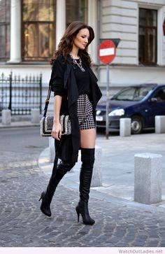 Fairytale black look design