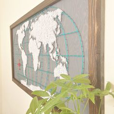 Wooden world map wall art heart home decor wood wall map custom similar ideas gumiabroncs