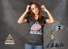Zombie Food Pyramid T-Shirt Design by Davydko $19.95