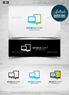 Mobile Talk - Logo Template - Objects Logo Templates