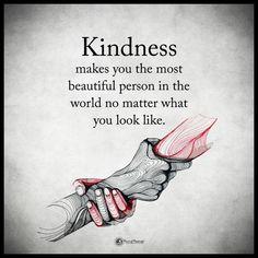 Kindness makes you the most beautiful person in the world no matter what you look like life quotes quotes quote inspirational quotes success quotes motivational quotes life quotes and sayings Now Quotes, Great Quotes, Best Life Quotes, Quotes About Life, Beautiful Quotes Inspirational, Beautiful Soul Quotes, Beautiful Quotations, Good Thoughts Quotes, Sorry Quotes