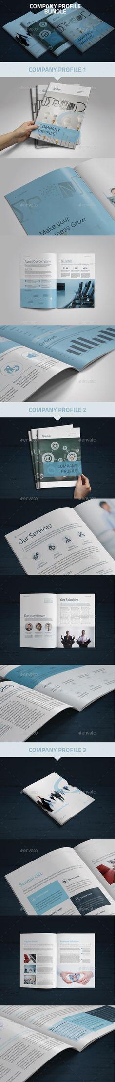 Company Profile Brochure Template Bundle #brochure download: http://graphicriver.net/item/company-profile-bundle/10865903?ref=ksioks