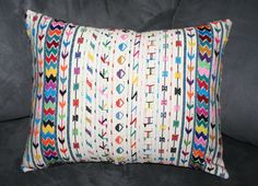 Items similar to Vintage Latino woven pillow cover on Etsy Sofa Throw Pillows, Pillow Covers, Weaving, Room Decorations, Etsy, Bath, Vintage, Ideas, Bathing