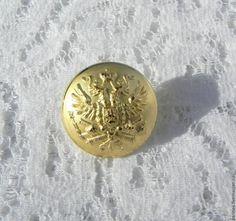Купить Пуговица Двуглавый орёл,герб,Франция,геральдика,металлическая,новая - пуговицы, пуговица