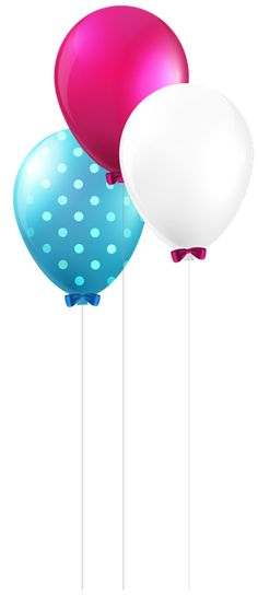 Balloons PNG Clip Art Image