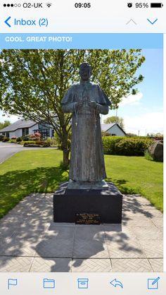 Fr Peyton statue