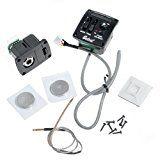 1pkg Belcat UK-400T 2 Band EQ Ukulele Equalize Pickup System with Chromatic LED Tuner
