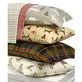 Martha Stewart Collection Bedding, Novelty Flannel Sheet Sets