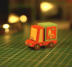 Paper Cars by Stella Caraman, via Behance
