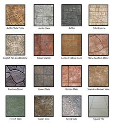 Metric Concrete Construction & Design Inc. Concrete Patios, Concrete Steps, Concrete Projects, Brick Patios, Roman Concrete, Stained Concrete, Backyard Patio Designs, Backyard Landscaping, Landscaping Ideas