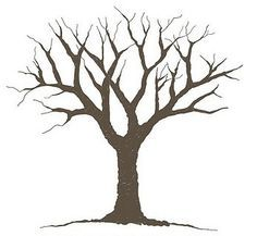 Clipart Tree With Branches And Leaves   Clipart Panda ...