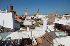 Hotel Amadeus, Seville.  Very highly rated, room prices seem reasonable - Rooftop bar worth every cent. Amazing!