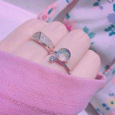 Jewelry Box, Jewelery, Jewelry Accessories, Girls Accessories, Ulzzang Girl, Kawaii, Pink Aesthetic, Cuff Bracelets, Piercings