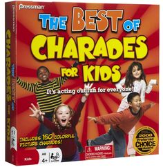 Pressman Toys The Best of Charades for Kids - Free Shipping