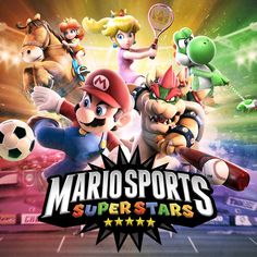 Nintendo UK - Begin your journey to superstardom at the Mario Sports Superstars website!   Become a Superstar  it's Mario Sports time! A multitude of Mushroom Kingdom competitors are bursting onto Nintendo 3DS family systems on March 10th for a sporting showdown of epic proportions in Mario Sports Superstars. With five of the worlds most popular sports in one game all featuring Local Play and online multiplayer youll need to bring your A game! Start your pre-match warm-up at the official…
