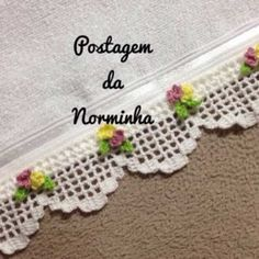 2018 Yılı Kolay Havlu Kenarı Modelleri | M-visible.com Crochet Edging Patterns, Crochet Lace Edging, Crochet Borders, Crochet Squares, Crochet Doilies, Crochet Stitches, Filet Crochet, Knit Crochet, Crochet Hats