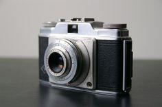 Vintage 1950s Agfa Silette Pronto Camera. $15.00, via Etsy.