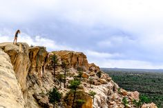 One Foot Firmly Planted -- New Mexico