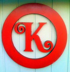 Red circle K Letter Art, Letter Logo, Wooden Letters, Monogram Letters, How To Write Calligraphy, Paint Swatches, Daughter Of God, Branding, Logo Nasa