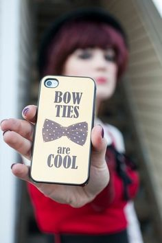 'Bowties are cool'