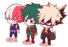 Hero kawaii chibi, boku no hero academia, haikyuu, fairy tail, manga ani My Hero Academia Shouto, My Hero Academia Episodes, Hero Academia Characters, Anime Characters, Anime Chibi, Kawaii Chibi, Tsuyu Asui, Point D'interrogation, Manhwa