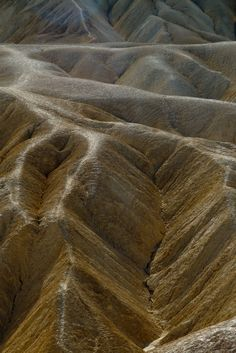 old and worn alluvial fans at Zabriskie Point - Death Valley NP #MomentstoConserve