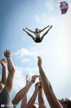 Cheerleading may look easy, but like all sports it takes hard work and dedication.