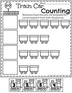 Worksheet for Kindergarten Transportation Transportation Preschool Activities, Transportation Worksheet, Transportation Activities, Preschool Learning Activities, Preschool Math, Vocabulary Activities, Dot Transportation, Fun Learning, Preschool Number Worksheets