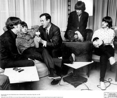 The Beatles with Cousin Brucie
