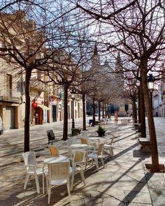 Vilafranca del Penedès #vilafranca #penedes #hivern #mati #soldhivern #luzdeinvierno #soldeinvierno