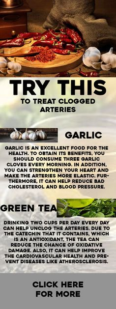 Try This To Treat Clogged Arteries