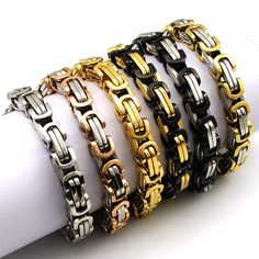 Hot Fashion Stainless Steel Bracelet Men Byzantine Link Chain Bracelets & bangles Pop Love Style, pulseira masculina https://wonderfestgifts.com/products/hot-fashion-stainless-steel-bracelet-men-byzantine-link-chain-bracelets-bangles-pop-love-style-pulseira-masculina?utm_campaign=outfy_sm_1501900274_418&utm_medium=socialmedia_post&utm_source=pinterest   #me #fashion #amazing #life #instalike #photooftheday #cool #instagood #smile #cute #instadaily #love #instacool #style #beautiful
