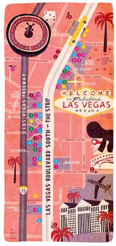 Welcome to Las Vegas Map