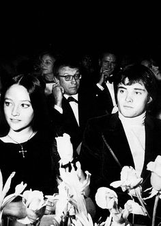 Olivia Hussey and Leonard Whiting attending the Romeo and Juliet premiere in Paris, September 24th 1968
