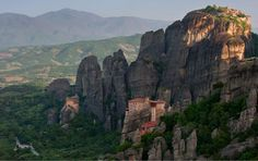 Clifftop monasteries of Meteora, Greece