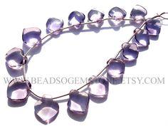 Gemstone Beads, Amethyst Light Smooth Apple (Quality AA+) / 10 to 11.5 mm / 18 cm / AME-011 by beadsogemstone on Etsy #amethystlightbeads #appleshapebeads #gemstonebeads #semipreciousstones #semipreciousbeads #briolettes #jewelrymaking #craftsupplies #beadsofgemstone #stones #beads
