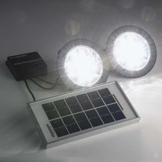 Solar shed/coop light with solar panel bracket. Contains two independently controlled lights. & Solar Shed Light SH16L | Cheap solar lights Solar lights and Solar azcodes.com