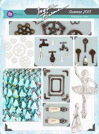 It's a Shabby Chic-Junkyard Findings-Comfort Craft Blog Hop!