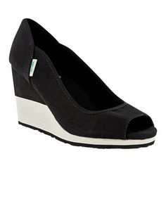Look what I found on #zulily! Teva Black Mush Promenade Wedge - Women by
