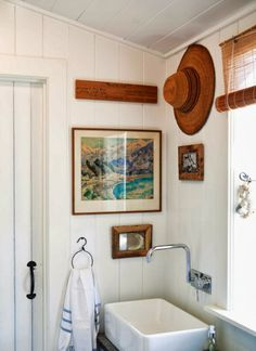 House Tour: Hastings House - Design Chic - cool towel ring