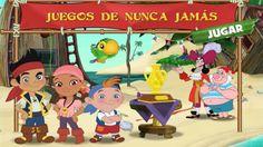 JAKE y los Piratas de Nunca Jamas - Juegos de Nunca Jamas -  SUSCRIBETE / SUBSCRIBE https://www.youtube.com/user/DISNEYWORLDES