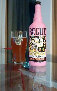 Rogue Ales Mango Astronaut Ale #RogueAles #MangoAstronautAle #craft beer #beer