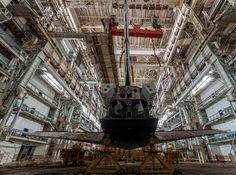 El hangar secreto que oculta los últimos transbordadores soviéticos | Unión Soviética, Rusia - América