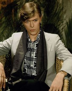 David Bowie, late 70s