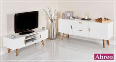 Details about New Scandinavian Retro TV Stand Sideboard Furniture White Grey 32 37 42 50 52 55 - Coffee Table And Sideboard, Tv Stand Sideboard, Sideboard Furniture, Mirrored Furniture, Retro Furniture, Dining Room Furniture, Cool Furniture, Ana White, Pallet Furniture Tv Stand