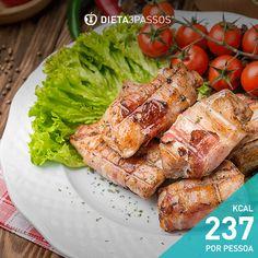 A DIETA3PASSOS tem um enorme e variado leque de receitas e dicas para si.Aproveite estes Bifes de frango enrolados com presunto e bom proveito!